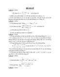 Đề thi thử toán khối D năm 2012
