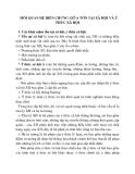 MỖI QUAN HỆ BIẾN CHỨNG GIỮA TỒN TẠI XÃ HỘI VÀ Ý THỨC XÃ HỘI