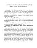 VAI TRÒ CỦA ĐẤU TRANH GIAI CẤP ĐỐI VỚI SỰ PHÁT TRIỂN CỦA CÁC XÃ HỘI CÓ GIAI CẤP