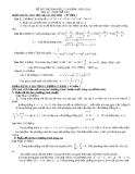 Đề thi thử đại học môn toán năm 2012_Đề số 128