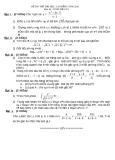 Đề thi thử đại học môn toán năm 2012_Đề số 129