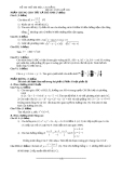 Đề thi thử đại học môn toán năm 2012_Đề số 130