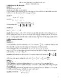 Đề thi thử đại học môn toán năm 2012_Đề số 133