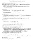 Đề thi thử đại học môn toán năm 2012_Đề số 134