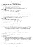 Đề thi thử đại học môn toán năm 2012_Đề số 136