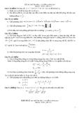 Đề thi thử đại học môn toán năm 2012_Đề số 137