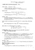Đề thi thử đại học môn toán năm 2012_Đề số 139