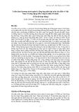 Báo cáo nghiên cứu nông nghiệp: Triển khai chương trình quản lý tổng hợp dịch hại trên cây điều ở Việt Nam với ứng dụng kiến vàng là nhân tố chính '