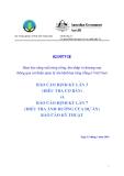 Báo cáo lần 3: Đảm bảo năng suất rừng trồng, thu nhập và thương mại thông qua cải thiện quản lý sâu bệnh hại rừng trồng ở Việt Nam