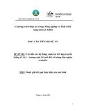 Báo cáo dự án: Cải thiện hệ thống sản xuất nông nghiệp truyền thống (VAC) – Lựa chọn sinh kế mới cho người nghèo vùng ven biển (MS5)