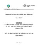 Báo cáo: Cải thiện hệ thống sản xuất nông nghiệp truyền thống (VAC) – Lựa chọn sinh kế mới cho người nghèo vùng ven biển (MS3)