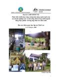 """Báo cáo nghiên cứu nông nghiệp """" Phát triển chiến lược tăng cường khả năng cạnh tranh của các doanh nghiệp vừa và nhỏ nông thôn trong chuỗi ngành hàng thực phẩm: trường hợp thức ăn chăn nuôi Báo cáo thăm quan học tập tại Thái Lan """""""
