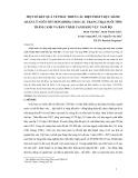 """Báo cáo nghiên cứu nông nghiệp """" MỘT SỐ KẾT QUẢ VỀ PHÁT TRIỂN CÁC BIỆN PHÁP THỰC HÀNH QUẢN LÝ NUÔI TỐT HƠN (BMPs) CHO CÁC TRANG TRẠI NUÔI TÔM THÂM CANH VÀ BÁN THÂM CANH KHU VỰC NAM BỘ """""""