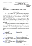 Đề thi tuyển sinh đại học môn tiếng Pháp năm 2012 khối D-Mã 364
