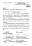 Đề thi tuyển sinh đại học môn tiếng Pháp năm 2012 khối D-Mã  531