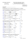 Đề thi tuyển sinh đại học môn tiếng Trung năm 2012 khối D-Mã 579