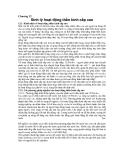 Chương 12: Sinh lý hoạt động thần kinh cấp cao