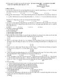 KỲ THI TS ĐẠI HỌC CAO ĐẲNG CÁC TRƯỜNG THPT QUẬN 5 + 10
