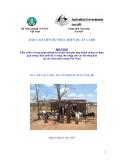 Báo cáo: Phát triển và ứng dụng những kỹ thuật mới phù hợp nhằm nâng cao hiệu quả trong chăn nuôi dê và tăng thu nhập cho các hộ nông dân tại các tỉnh miền trung Việt Nam (MS4)