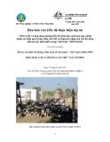 """Báo cáo nghiên cứu nông nghiệp """" Phát triển và ứng dụng những tiến bộ khoa học mới phù hợp nhằm nâng cao hiệu quả trong chăn nuôi dê và tăng thu nhập cho các hộ nông dân tại các tỉnh miền trung Việt Nam - MS5 """""""