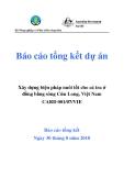Dự án nghiên cứu:  Xây dựng biện pháp nuôi tốt cho cá tra ở đồng bằng song Cửu Long, Việt Nam  '