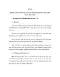 ĐỀ CƯƠNG ÔN THI ĐẠI HỌC MÔN LỊCH SỬ NĂM 2012 - BÀI 12
