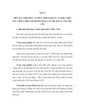 ĐỀ CƯƠNG ÔN THI ĐẠI HỌC MÔN LỊCH SỬ NĂM 2012 - BÀI 21