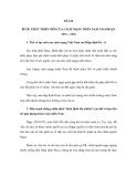 ĐỀ CƯƠNG ÔN THI ĐẠI HỌC MÔN LỊCH SỬ NĂM 2012 - BÀI 24