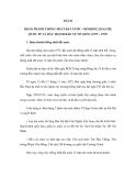 ĐỀ CƯƠNG ÔN THI ĐẠI HỌC MÔN LỊCH SỬ NĂM 2012 - BÀI 26