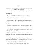 ĐỀ CƯƠNG ÔN THI ĐẠI HỌC MÔN LỊCH SỬ NĂM 2012 - BÀI 8