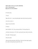 """TÌNH CẢNH LẺ LOI CỦA NGƯỜI CHINH PHỤ (trích: """"Chinh phụ ngâm"""") (Đặng Trần Côn- Đoàn Thị Điểm)"""