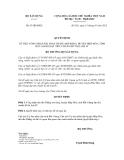 Quyết định số  63/QĐ-BXD