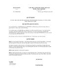 Quyết định số 119/QĐ-BXD