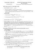 Đề ôn thi đại học môn toán 2012 Khối a