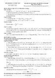 Đề luyện thi cao đẳng môn toán 2012 khối A