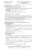 Đề ôn thi đại học môn toán 2012 khối B