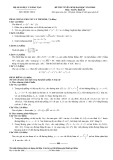 Đề luyện thi đại học môn toán 2012 khối B