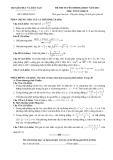Đề ôn thi đại học môn toán 2012 Khối D