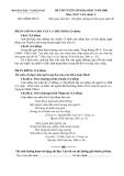 Đề luyện thi đại học môn văn 2012 khối C