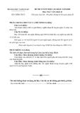 Đề luyện thi cao đẳng môn văn 2012 khối D