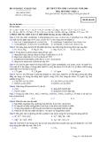 Đề luyện thi cao đẳng môn hóa học 2012 khối A_5