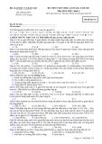Đề ôn thi trắc nghiệm cao đẳng môn hóa học 2012 khối A_4