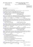 Đề ôn thi trắc nghiệm đại học môn hóa học 2012 khối A_4