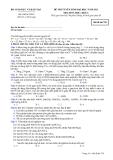 Đề ôn thi trắc nghiệm đại học môn hóa học 2012 khối A_5