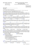 Đề ôn thi trắc nghiệm đại học môn hóa học 2012 khối A_6