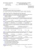 Đề luyện thi đại học môn hóa học 2012 khối A_3