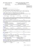 Đề luyện thi đại học môn hóa học 2012 khối A_5