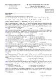 Đề luyện thi đại học môn hóa học 2012 khối A_6
