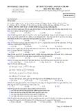 Đề luyện thi cao đẳng môn hóa học 2012 khối B_2