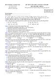 Đề luyện thi cao đẳng môn hóa học 2012 khối B_4